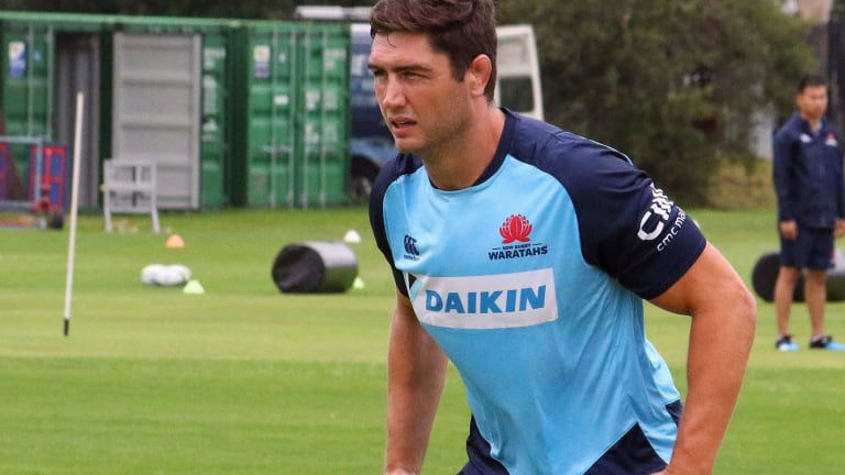 Huge boost: New Waratahs lock Rob Simmons believes the side can bounce back from a poor 2017.