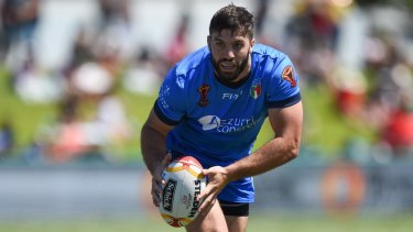 James Tedesco was reportedly punched by a teammate in a Cairns nightclub.
