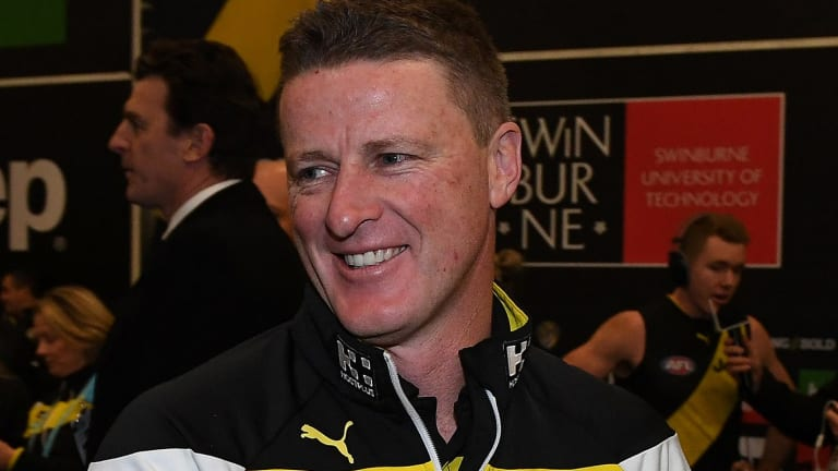 Damien Hardwick says this is his best Richmond team.
