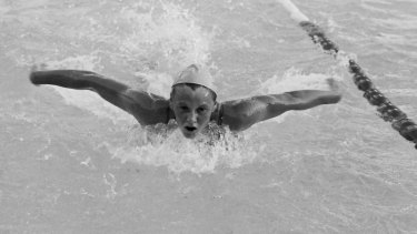 Australian swimming legend Shane Gould.
