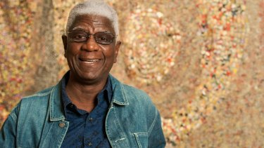 Ghana's El Anatsui is showing 30 works.