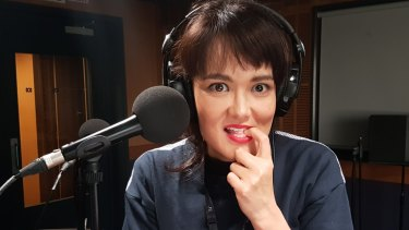 Yumi Stynes is the presenter of the new ABC podcast Ladies, We Need To Talk.