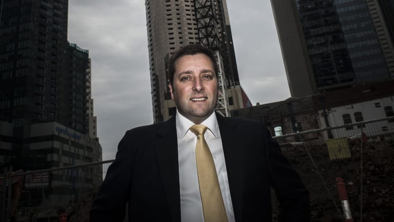 Matthew Guy in 2014, when he was planning minister.