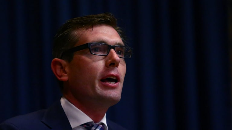 Treasurer and Industrial Relations Minister Dominic Perrottet.