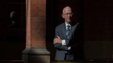 Aurizon CEO Lance Hockridge is trying to move the rail group away from coal.