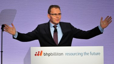 BHP chief Andrew Mackenzie tried to convince Mr Trump to stay in the Paris agreement - to no avail.