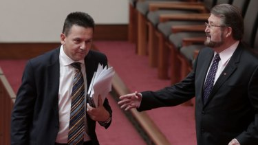 Crossbench senators Cory Bernardi, Nick Xenophon and Derryn Hinch have called for a full audit of parliamentarians' citizenship status.