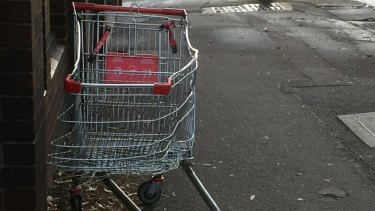 One man died and another was injured after riding on a shopping trolley down a road in Randwick.