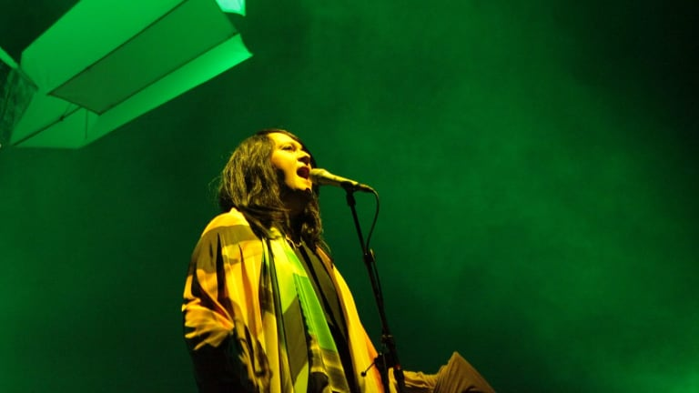 Antony and the Johnsons performing in Australia in 2012.