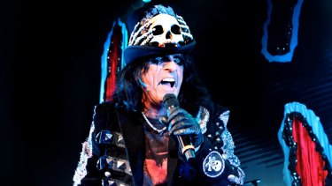 Alice Cooper's show has been notorious since the late 1960s.