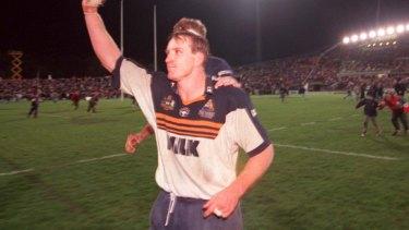 Former Brumbies captain Brett Robinson.