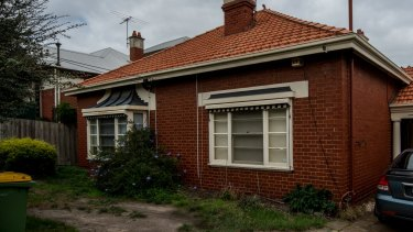 The undeclared Northcote home co-owned by Mr Feeney, which is leased out to tenants.