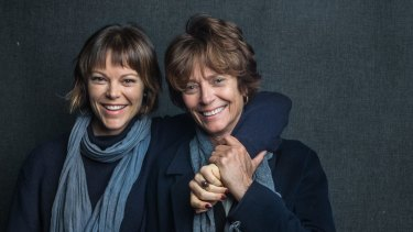 Matilda Brown, left, and Rachel Ward, the mother and daughter female leads in <i>The Death and Life of Otto Bloom</i>.