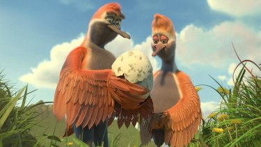 Flying the Nest is pleasantly shambolic, lacking the slick patina and manic pace of many animated features from the big studios.