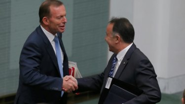 Mr Nikolic is close to former prime minister Tony Abbott.