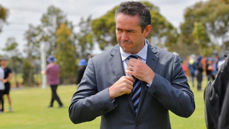 Simon Lethlean won't be Carlton's CEO.