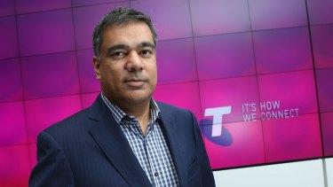 Telstra's sacked CTO, Vish Nandlall.