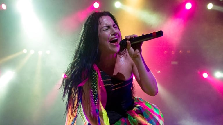 Evanescence at The Sydney Entertainment Center in 2012.