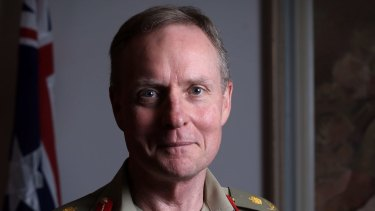 Lieutenant-General David Morrison.