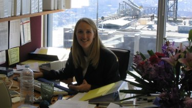 Katrina Dawson during her time at King & Wood Mallesons law firm in Sydney.