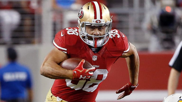 Hayne played for the San Francisco 49ers in 2015 and 2016 before leaving in May 2016 in an attempt to play at the Olympics in rugby sevens.