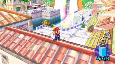 Nintendo's GameCube console gave unprecedented graphical fidelity to Mario's world.