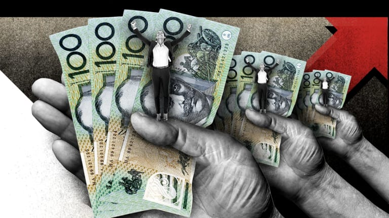 The most recent national data from 2014 shows 156,000 Australians were giving money to charities.