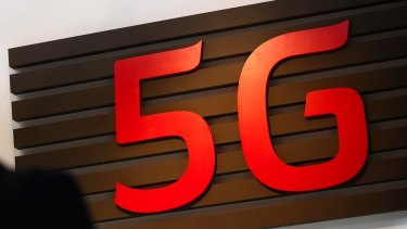 The 5G equipment, tested by Telstra, uses hundreds of small antenna.
