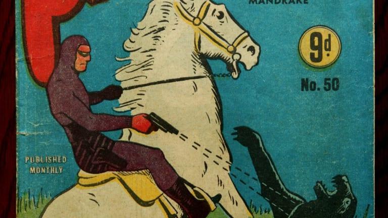 The number 50 Frew Publication Phantom comic.