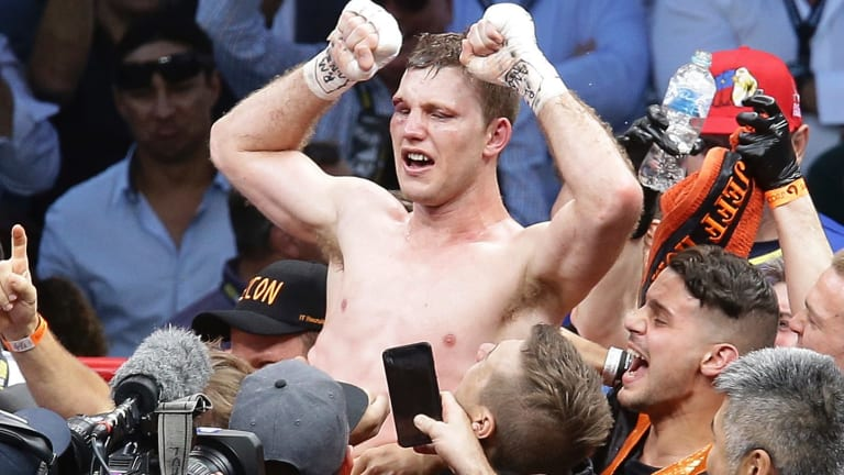 "Fighting words: Jeff Horn says many boxing observers still ""underestimate"" his ability."