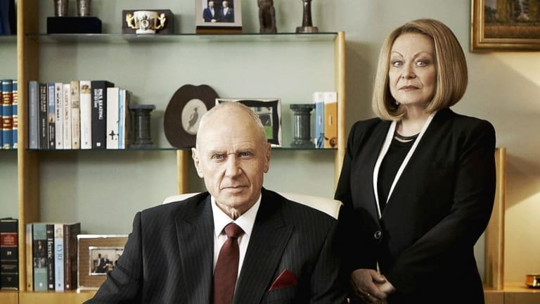 Alan Dale and Jacki Weaver in