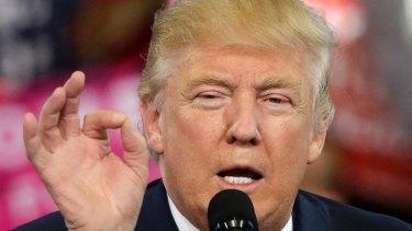 Republican president-elect Donald Trump.