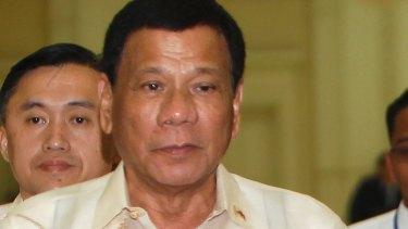 "Vowed to ""kill more"" drugs suspects: Philippine President Rodrigo Duterte."