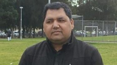 Shopkeeper Adeel Khan, who is charged with three counts of murder over the explosion in Rozelle.