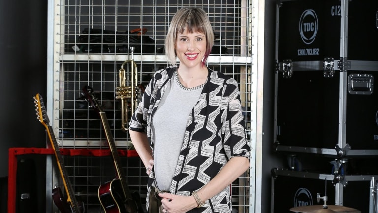 Canberra mum Amber Nichols will be competing on The Voice while 34 weeks pregnant