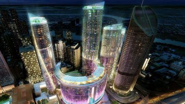Echo Entertainment's  Queen's Wharf complex will open in 2022.