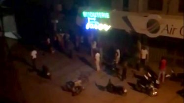Suspected Islamic extremists opened fire at a Turkish restaurant in the capital of Burkina Faso late Sunday, killing at least 18 people in the second such attack on a restaurant popular with foreigners in the last two years.