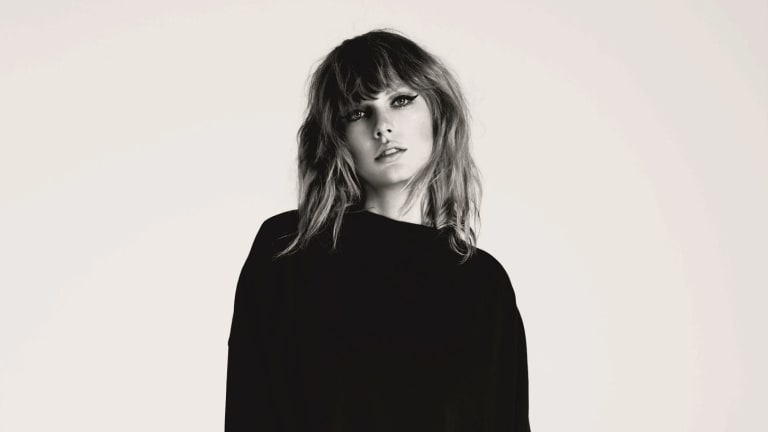 Taylor Swift goes on the defensive, creating a cluttered musical picture.