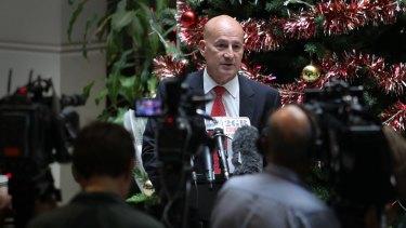 """Labor must unite behind the [new] leader"": John Robertson announces his resignation."