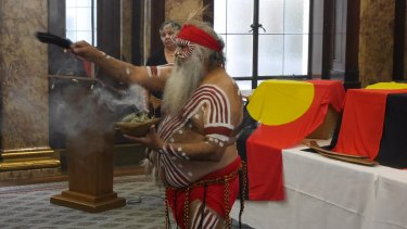 The handover ceremony for Australian Aboriginal ancestral remains took place at Australia House in London.