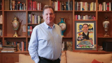Former VFL and AFL commissioner Graeme Samuel had the job of saving footy