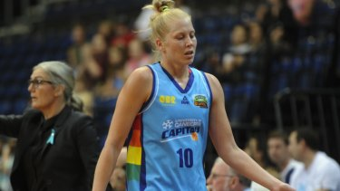 2014-2015 WNBL most-valuable player Abby Bishop is out of the Rio Olympics squad.