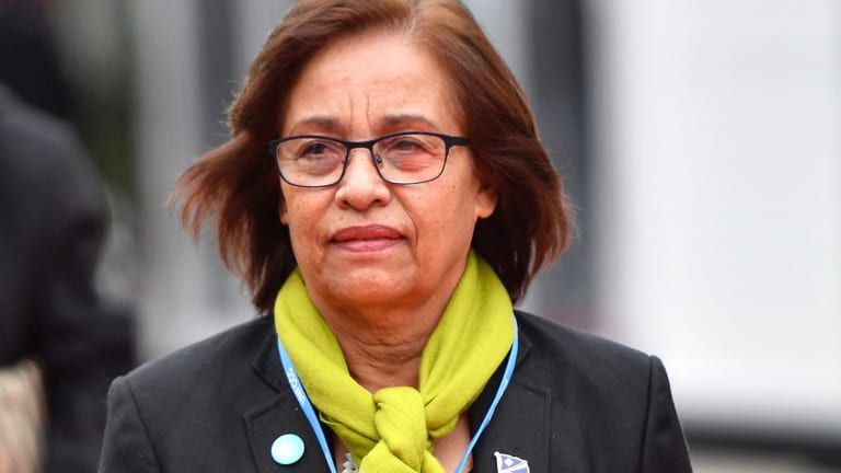 Marshall Islands President Hilda Heine said she was very disappointed in Australia.
