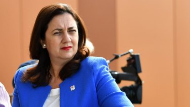 "Queensland Premier Annastacia Palaszczuk: ""I want to look at what other levers of government are open for me to apply to stop this dumping of NSW waste."""