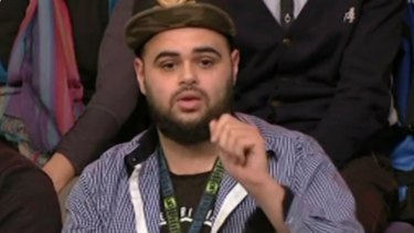 Zaky Mallah controversially appeared in the audience of <i>Q&A</i>.