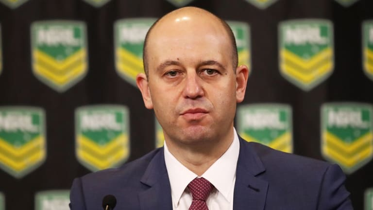 NRL chief Todd Greenberg.