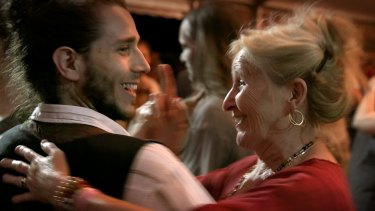 Strangers of all ages are united in Le Grand Bal.
