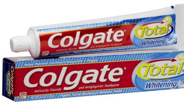 Health concerns: Colgate Total contains triclosan.