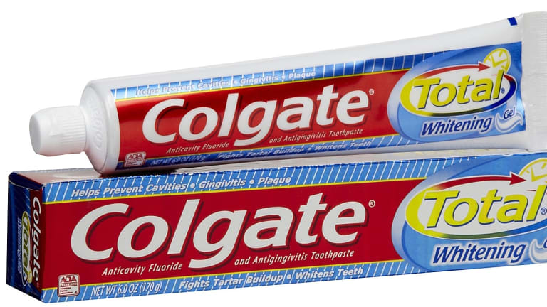 Health concerns: Colgate Total contains triclosan.