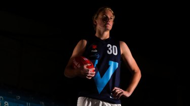 Patrick Kerr kicked two early goals for Vic Metro